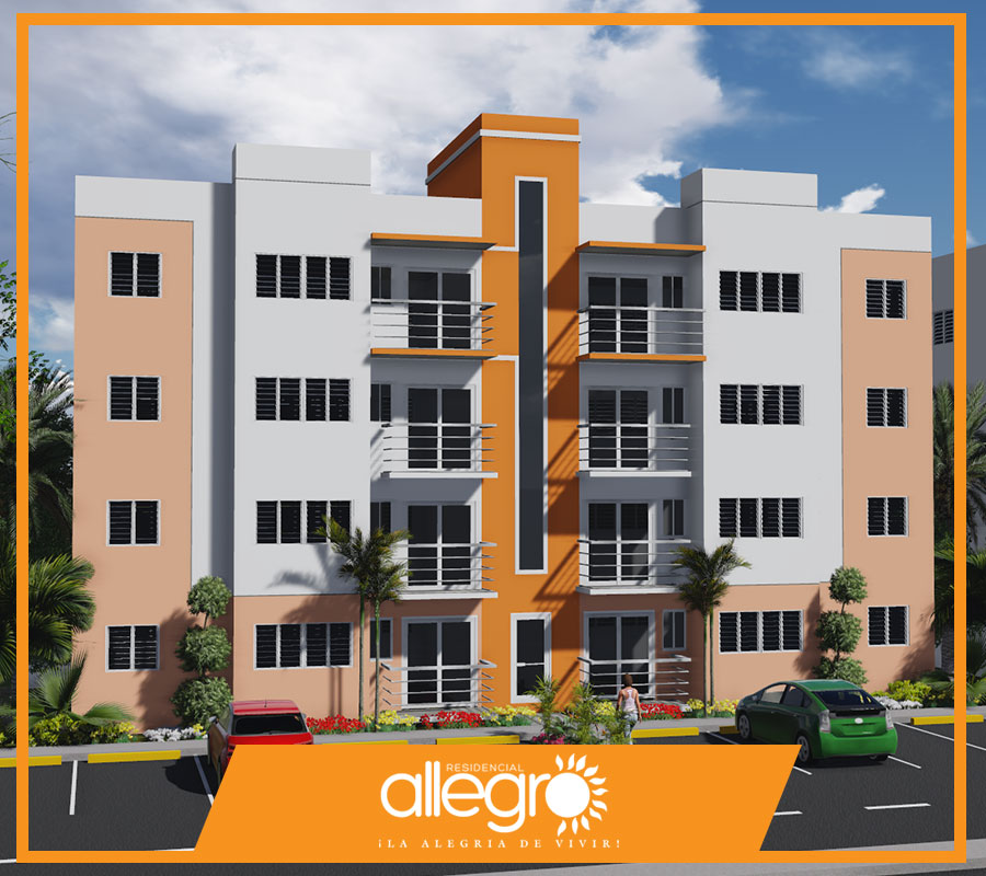 Apartamentos en venta en Santiago de los Caballeros, Allegro