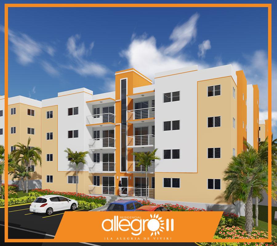 Apartamentos en venta en Santiago de los Caballeros, Allegro ll 1
