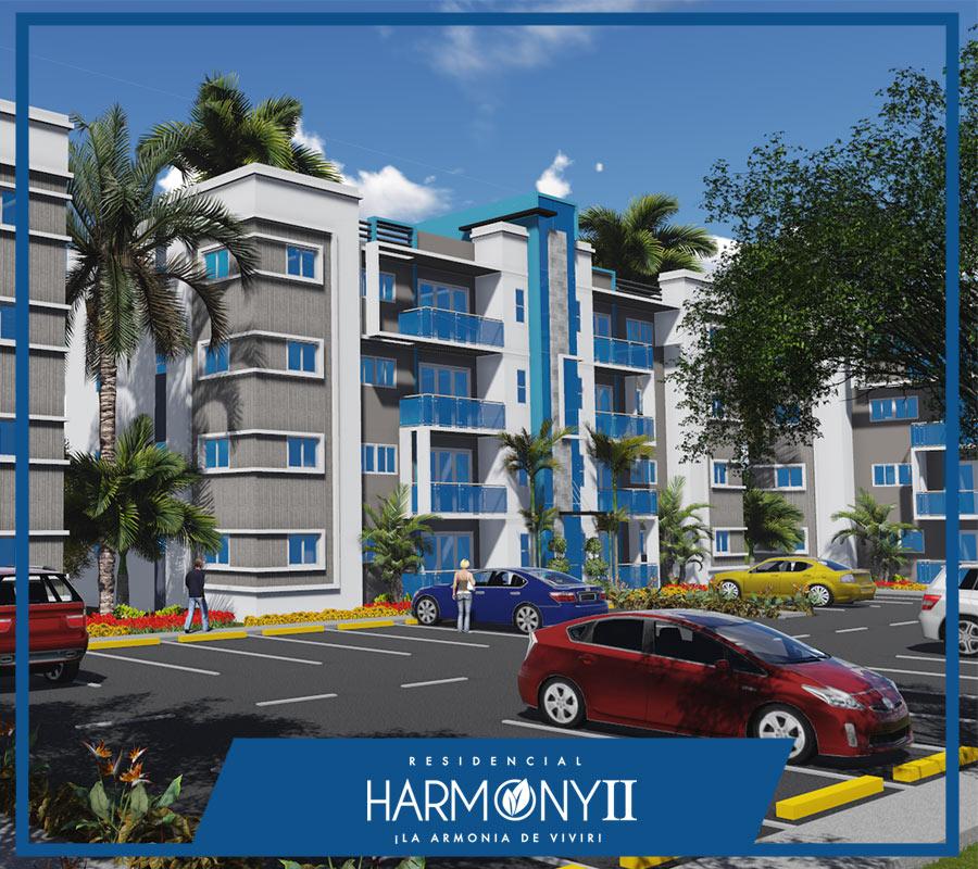 Apartamentos en venta en Santiago de los Caballeros, Harmony ll 2